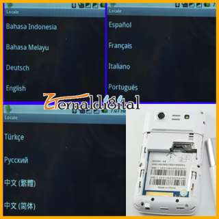 New Android 2.2 Dual SIM WIFI QWERTY Cell Phone A8 W