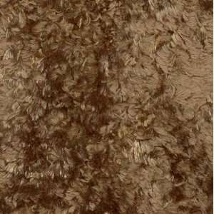 60 Wide Teddy Bear Fur Silky Coffee Brown Fabric By The