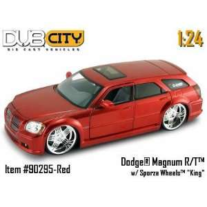 Jada Dub City Red Dodge Magnum R/T 124 Scale Die Car