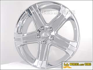 Set of 4 New 22 Dodge Ram 1500 SRT10 OEM Chrome Wheels Rims EXCHANGE