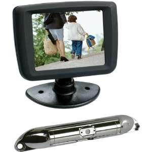 Boyo Vtc431R Bar Type License Plate Camera Package Car