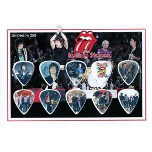 THE ROLLING STONES Mick Jagger Signed Autographed 250 Limited Edition