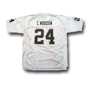 Charles Woodson #24 Oakland Raiders NFL Replica Player Jersey By