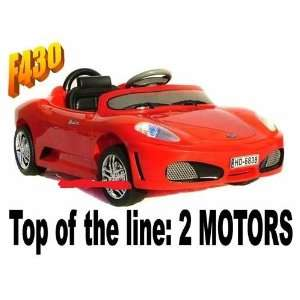 Car 2 Motors Power Kids Ride on Wheels Remote Control Toys & Games
