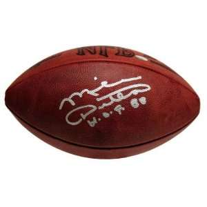 Mike Ditka Autographed Football  Details Football with