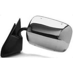 Get Crash Parts Gm1320106 Door Mirror, Manual, Below Eyeline, Chrome