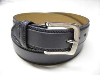 New Mens Casual Wear Jeans 1.5W Leather Belt Gray E13