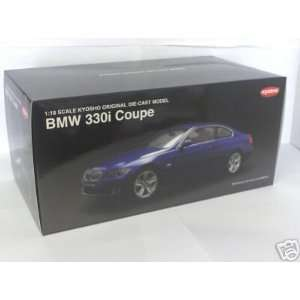 2007 BMW 330i Coupe diecast model car 118 scale die cast