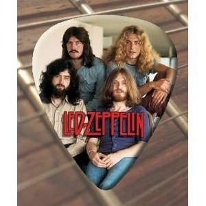 Led Zeppelin Group Pic Guitar Picks x 5 Medium