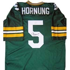 Paul Hornung Autographed Custom Style Jersey Sports
