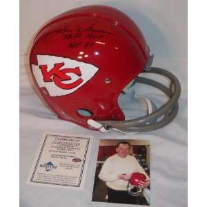 Len Dawson Autographed/Hand Signed Kansas City Chiefs RK 1960s style