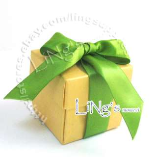 2x2x2 2 piece Favor Gift Box Wedding Baby Shower Party