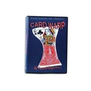 Card Warp   Instructional Magic Trick DVD Toys & Games