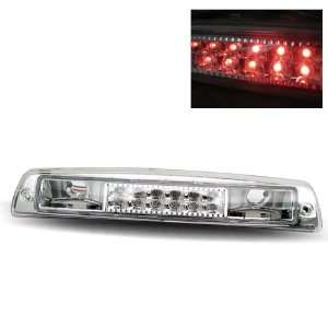 94 01 Dodge Ram Chrome LED 3RD Brake Light Automotive