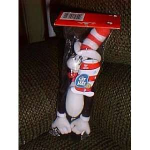 Dr Seuss 9 Plush Cat in the Hat Christmas Ornament