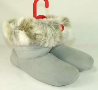 Style & Co. Womens Faux Fur Soft Warm Bootie Slippers