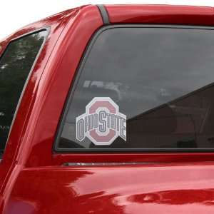 Ohio State Buckeyes Perforated Window Decal