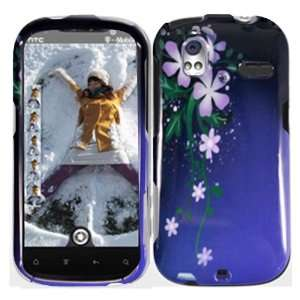 Nightly Flower Hard Case Cover for HTC Amaze 4G Cell