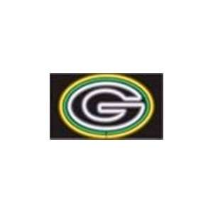 NFL Green Bay Packers Logo Neon Lighted Sign  Sports