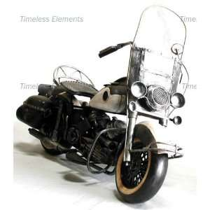 Harley Flh Duo Glide Motorcycle Model