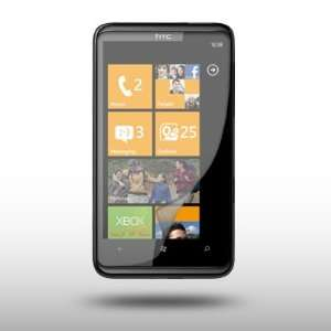 HTC WINDOWS 7 HD7 CRYSTAL CLEAR LCD SCREEN PROTECTOR