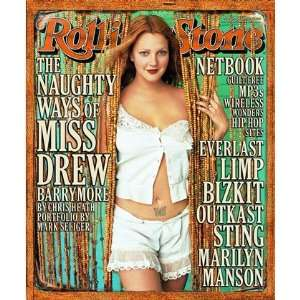 Drew Barrymore, 2000 Rolling Stone Cover Poster by Mark Seliger