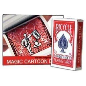 Magic Cartoon Deck   Bicycle   Card Magic Trick Toys