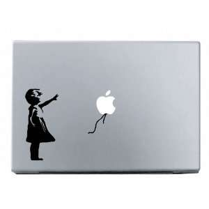 Banksy Girl Macbook Decal Mac Apple skin sticker