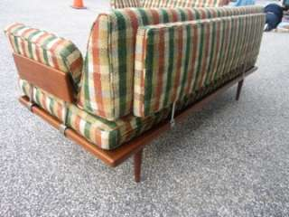 OUTSTANDING SIGNED JOHN STUART L SHAPED SOFA 3 PIECE SET MID CENTURY