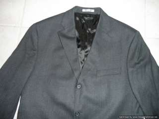 Ralph Lauren Mens Wool Cashmere Blazer 44 Regular Dark Gray Coat