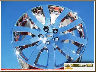 20 RANGE ROVER SPORT OEM CHROME WHEELS LAND EXCHANGE