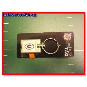 Green Bay Packers Flash Light Up Key Chain/Ring