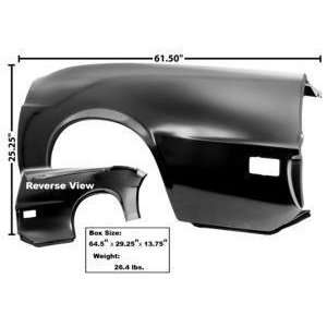 1970 Mustang Quarter Panel, Complete LH (Convertible) Automotive