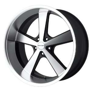 KMC Nova KM701 Gloss Black Wheel with Machined Face (20x8
