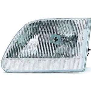 1997 02 FORD EXPEDITION HEADLIGHT ASSEMBLY FROM 7/96, DRIVER SIDE