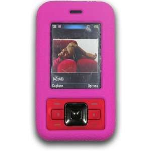 Kyocera Laylo M1400 HOT PINK Silicone Skin Case