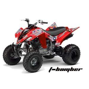AMR Racing Yamaha Raptor 350 ATV Quad Graphic Kit   T