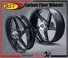 BST Carbon Fiber Wheels 5 Sproke Rims BMW S1000RR