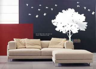 Wall Decor Decal Sticker vinyl large silhouette tree 5