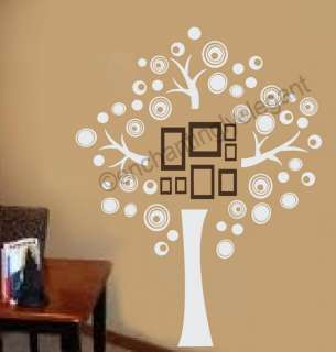 Family Tree Vinyl Decal Wall Sticker Picture Wall Mural Modern Art