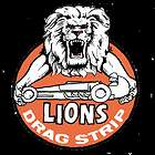 VINTAGE COLLECTIBLE DRAG RACING STICKER DECAL RAT ROD LIONS DRAG STRIP