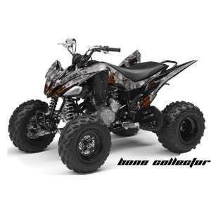 AMR Racing Yamaha Raptor 250 ATV Quad Graphic Kit   Bone