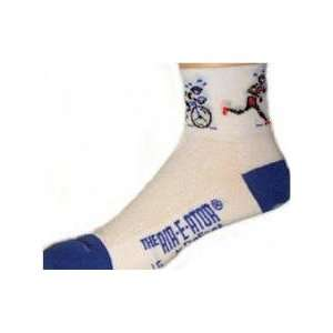 DeFeet TRI ATHLETE COOLMAX RUNNING/CYCLING SOCKS   Size Sm
