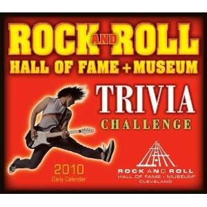 Rock & Roll Hall of Fame Trivia 2010 Daily Boxed Calendar
