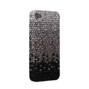 Silver Glitter Bling Cover Iphone 4 Case Cell Phones & Accessories