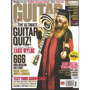 Guitar World, November 2007 Issue Editors of GUITAR WORLD
