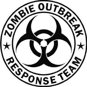 Outbreak Response Team   Vinyl Decal Sticker   8 BLACK by Ikon Sign