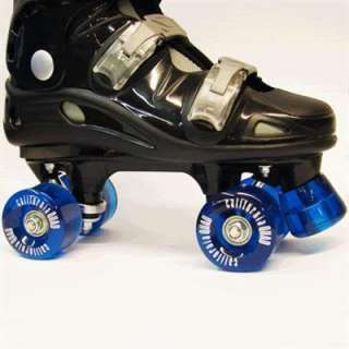CALIFORNIA PRO BLACK QUAD ROLLER SKATES MENS & KIDS