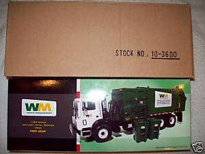 1st Gear Mack Waste Management Side Loader Trash Truck