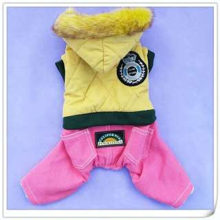 Dog Pet Coat Clothes Jacket Apparel sweater 6 SIZES